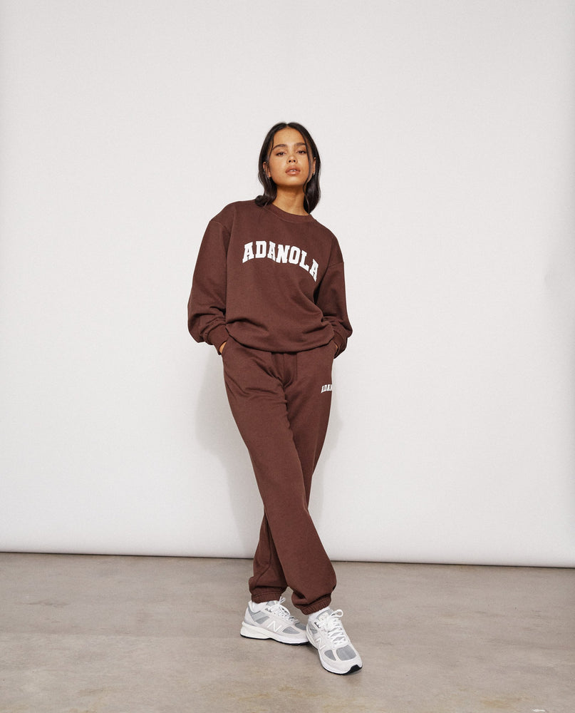 Adanola Essential Sweatpants - Chocolate