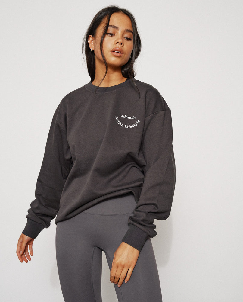 Adanola Essential Sweatshirt - Charcoal