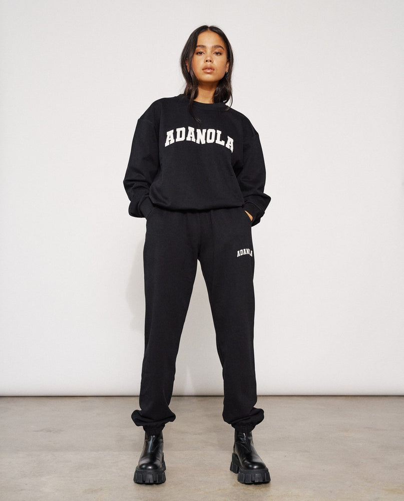 Adanola Essential Sweatpants - Jet Black