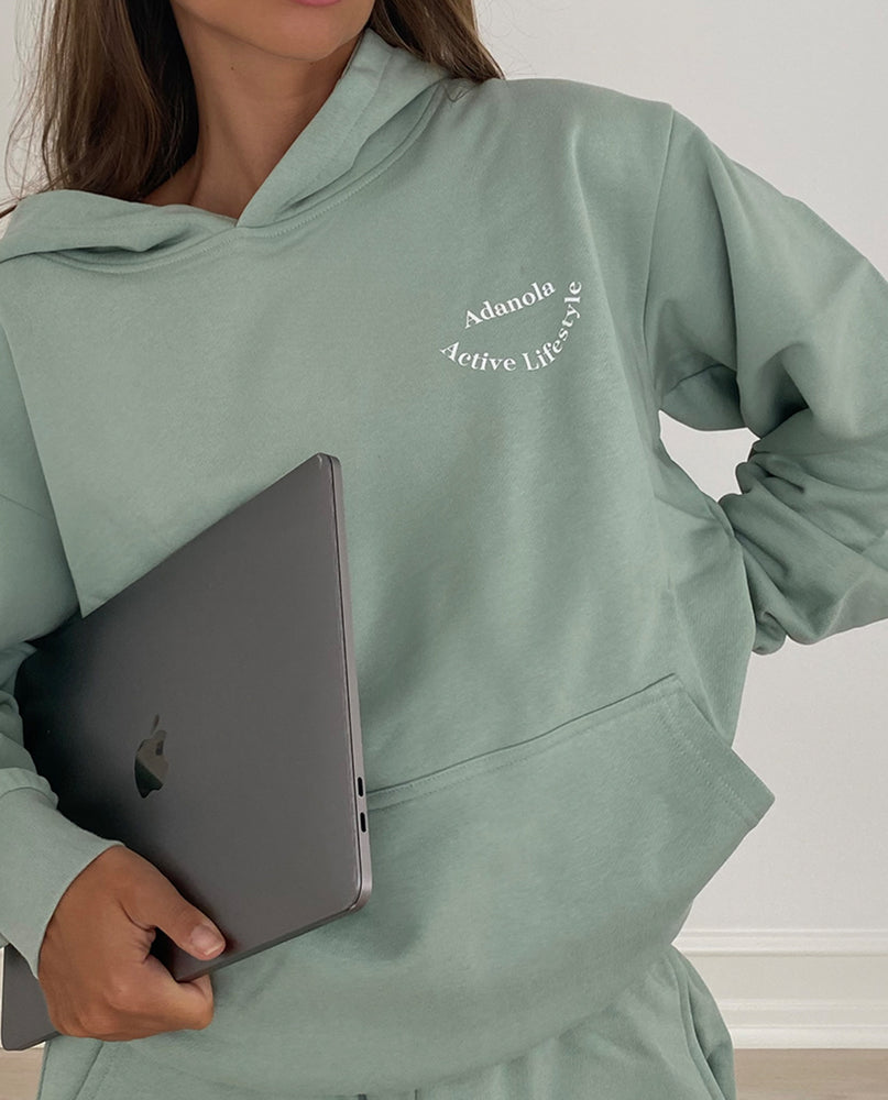 Load image into Gallery viewer, Adanola Essential Hoodie - Sage