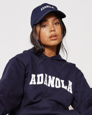 Load image into Gallery viewer, Adanola Varsity Cap -  Navy/White
