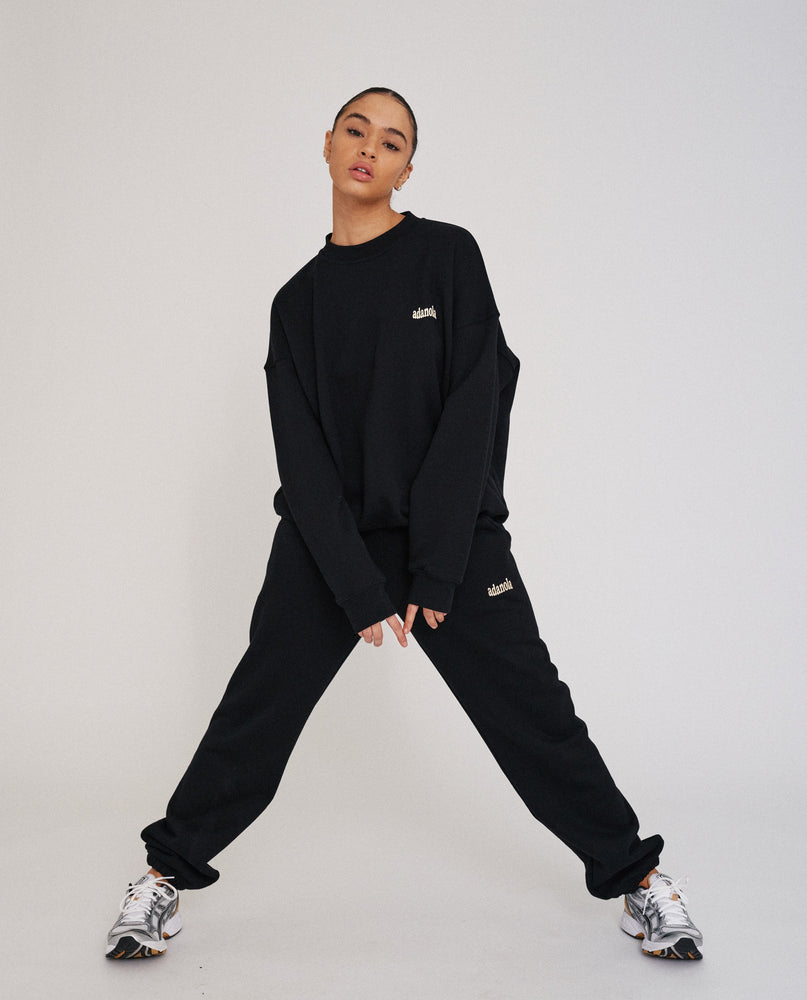 Oversized Sweatshirt - Black