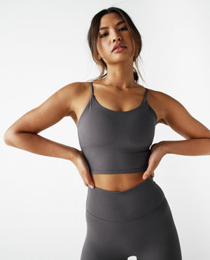 Tank Bra - Dark Grey