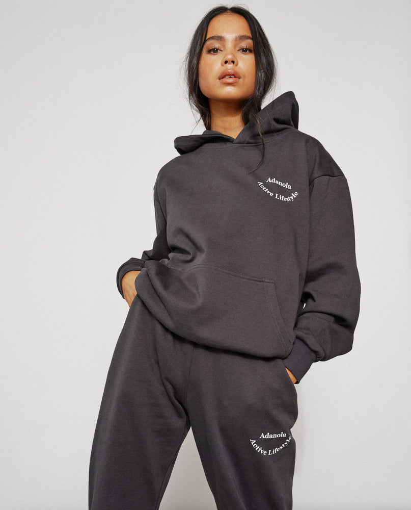 Load image into Gallery viewer, Adanola Essential Hoodie - Charcoal