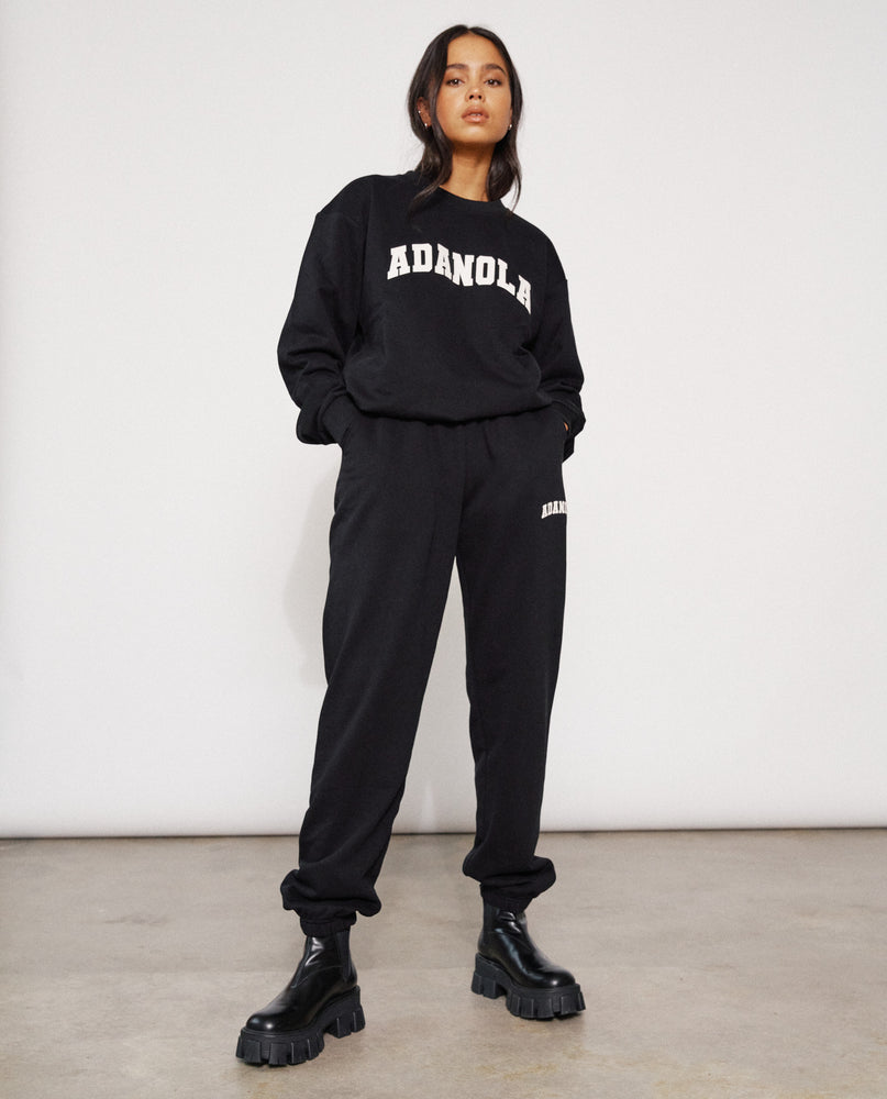 Load image into Gallery viewer,  Adanola Essential Sweatpants - Jet Black