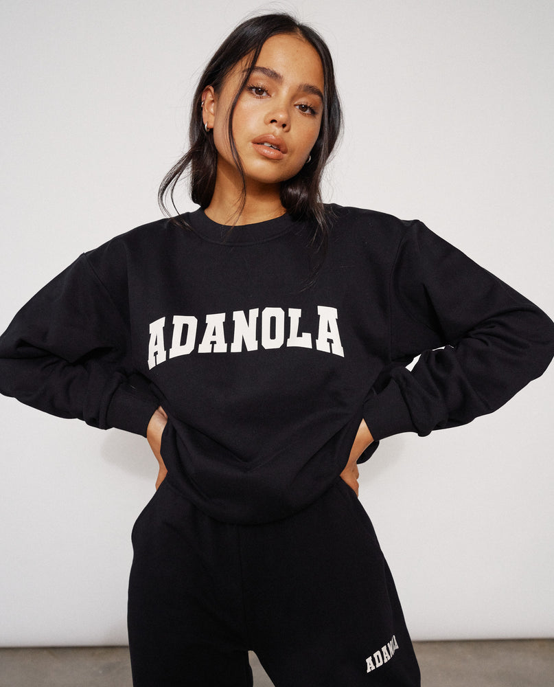 Adanola Essential Sweatshirt - Jet Black