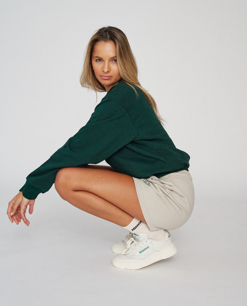 Adanola Essential Sweatshirt - Forest Green