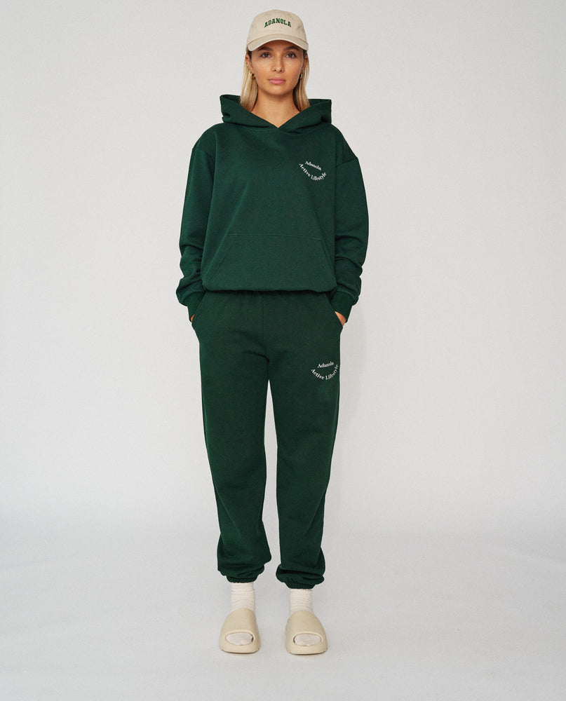 Load image into Gallery viewer, Adanola Essential Hoodie - Forest Green
