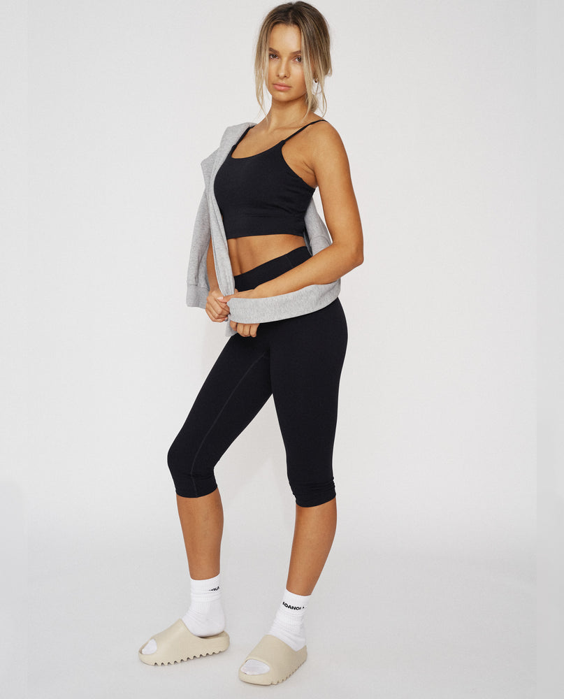 Ultimate Capri Leggings - Black