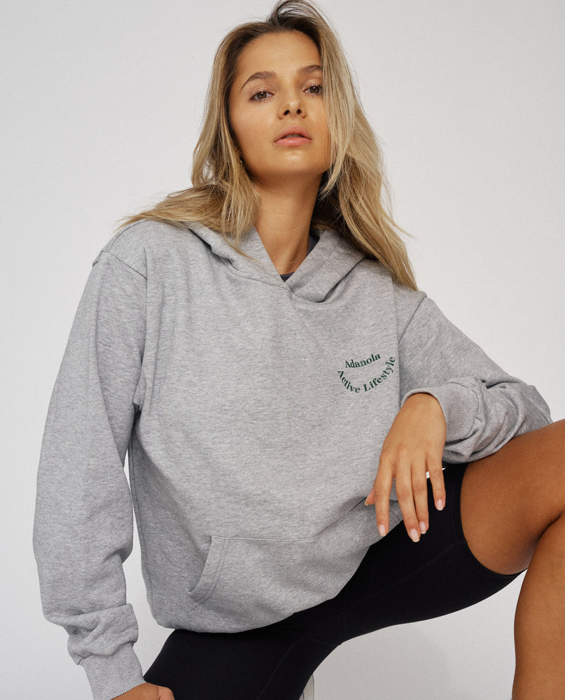 Load image into Gallery viewer, Adanola Essential Hoodie - Grey Marl
