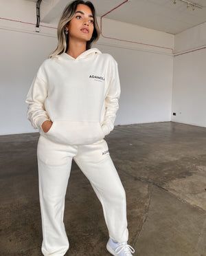 Adanola Essential Sweatpants - Cream