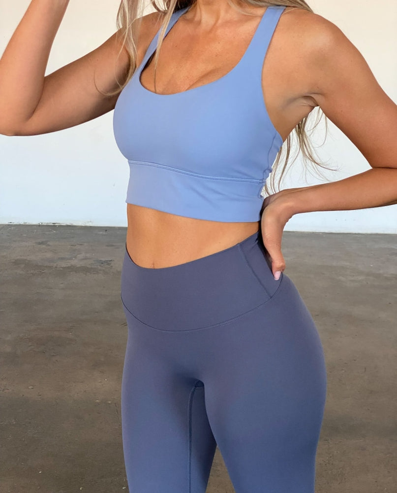 Load image into Gallery viewer, Ultimate Leggings - Dusk Blue