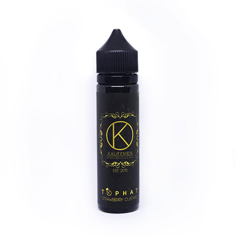 Vapechi | KAUFFEMEN - Tophat / Strawberry Custard 60 ML - VAPECHI - Vapor E-Juice Store