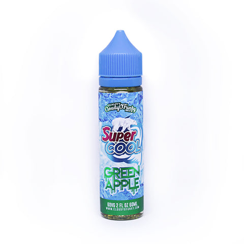 Vapechi | SUPERCOOL - Green Apple 60 ML - VAPECHI - Vapor E-Juice Store