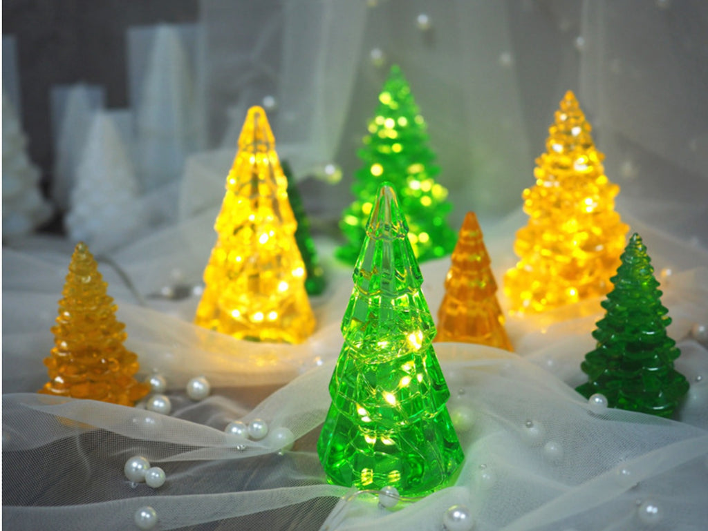 Christmas pine tree mould | Pine tree mould | 3D mould | Silicon Mould