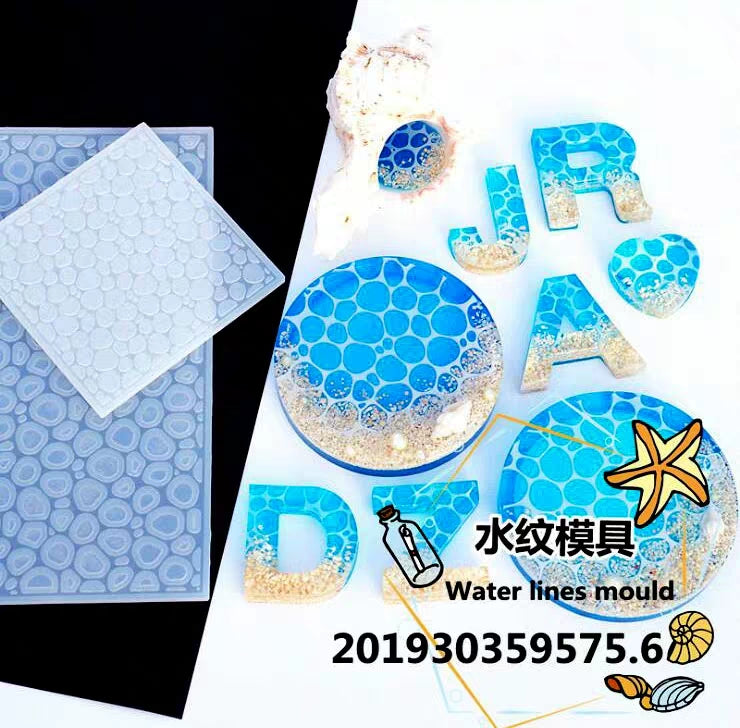 Bubble mould | Foam moulds | Silicon mould | Water ripple mould