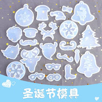 Christmas ornaments moulds | Silicon mould | Snow flakes mould | Reindeer moulds | Christmas tree