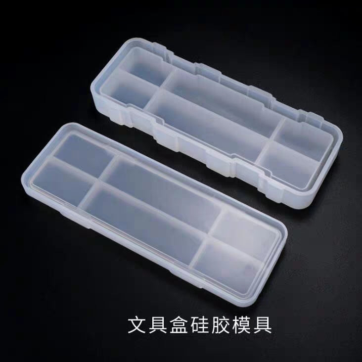 Pencil case mould | 3D mould | Container mould | Silicon mould | pencil box moulf