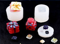 Gift box mould | Handmade mould | Christmas gift box mould | Silicon mould | 3D mould | UV resin mould