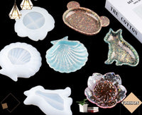 Soap tray mould | Tray mould | Plate mould | Silicon mould | Seashell mould | Flower mould