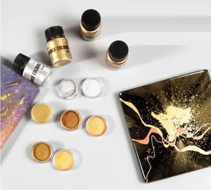 Gold powder | Silver color pigment powder | Resin pigment powder