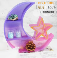 Moon & Star Display Set mould | Display organizer mould | Organizer mould