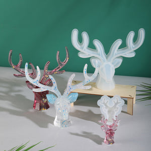 Jewelry holder mould | Reindeer mould | Key holder mould | 3D mould
