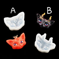 Cat mould | Silicon mould | uv resin mould | Resin mould