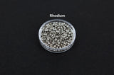 Crimpable beads | DIY jewelry | Round bead | Metal beads | Gold bseads | Silver beads