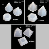 Triangle trinket box mould | Triangle mould | 3D mould | Resin mould | Silicon mould