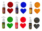 Alcohol ink color pigment | Alcohol ink for AB resin | AB resin | Color pigment | UV resin |