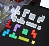 Tetris games mould | Board games mould | 3D mould | Silicon mould | UV resin mould