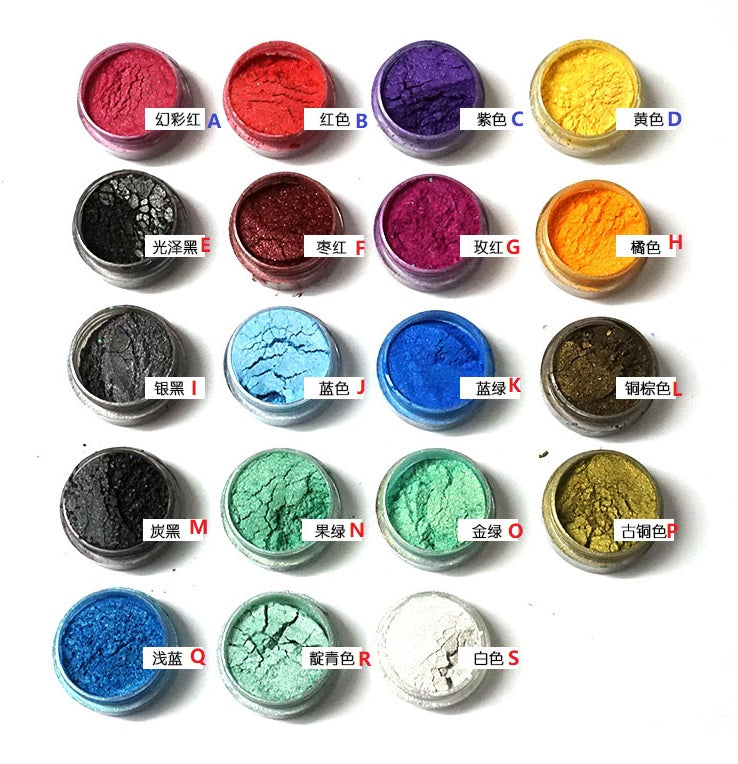 Pearl powder | Pearl mica powder | Color powder pigment | Resin color powder | Pigment powder