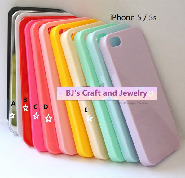 iPhone 5 / 5s HARD casing | iPhone casing | iPhone clear casing | iPhone 5s casing | iPhone 5 casing | Decoden clear phone case