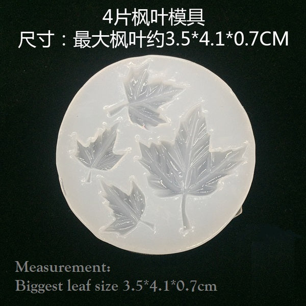 Maple leaf mold | Leaf mold | Silicon mold