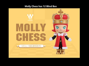Molly Chess Blind Box | Blind Box | Mystery box | Mystery mini | Grab bag | Figurines | Secret Chase