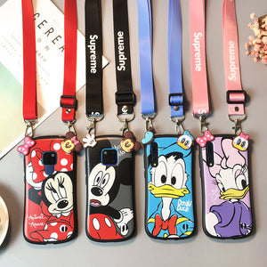 Huawei/iPhone Disney Phone Case | Silicon phone case | iPhone case | Phone strap