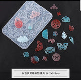 Pendant mould | Jewelry mould | Silicon mould | Bookmark mould | star mould