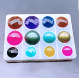 Gemstone mould | Pendant mould | Silicon mould | Geometrical mould