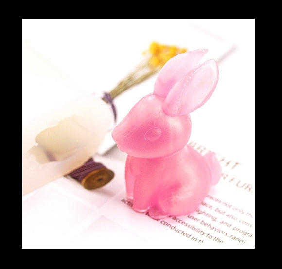 3D bunny mold | 3D mould | Silicon mold | UV resin mould | Rabbit mold