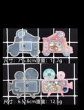 Candy cart shaker mould | Cardcaptor Sakura | Silicon mould | Ice cream shaker mould
