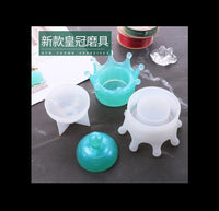 Crown container mould | Container mould | Trinket box mould | Silicon mould