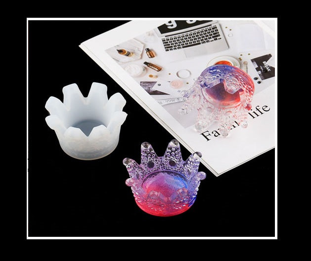 Crown mould | Silicon mould | Resin mould | UV resin mould | Ash tray mould