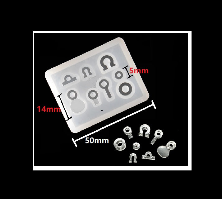 Jewelry bailes mould | UV resin mould | Resin bailes mould