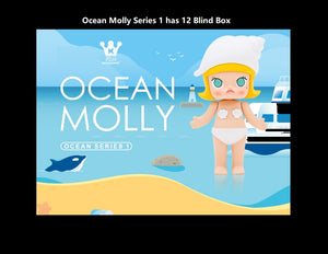 Molly Ocean Series 1 Blind Box | Blind Box | Mystery box | Mystery mini | Grab bag | Figurines | Secret Chase