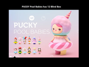 PUCKY Pool Babies Blind Box | Blind Box | Hidden figure | Mystery box | Grab bag | ucky blind box