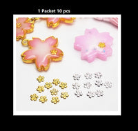 Sakura inclusion | Gold Sakura embellishment | Sakura accent | Resin inclusion