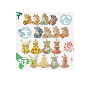 Disney Princess Open Bezel | Open back bezel | Resin open bezel | Princess Charm