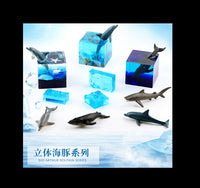 Toy shark | Water ripple mould | Glass stones | Color stones | Square moulds