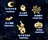 Gold Halloween Embellishment | Inclusion | Christmas embellishment | Resin accents | Resin inclusion | Christmas ornaments